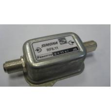 Режекторный фильтр RF 8.11кан. (18дБ)