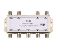 Переключатель DISEqC 8х1 8100S 1.0/1.2