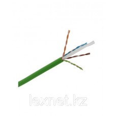 Кабель UTP 6e 4*2*24 LSZH (305 м) зеленый