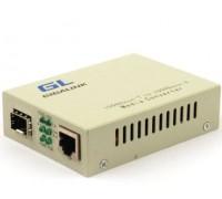 Медиаконвертер GL-MC-UTPG-SFPG-F (UTP-SFP, 10/100/1000 Мбит/с)