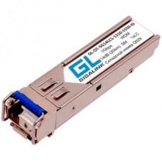 Модуль SFP GL-OT-SG14SC1, WDM, 1Гбит/с, 14дБ, ( 20км ), TX1310нм, RX1550нм, SC