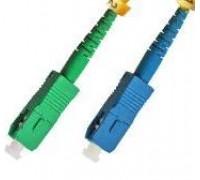 Оптический патчкорд SC/APC-SC/UPC 9.5/125 - 3.0м (Simplex)