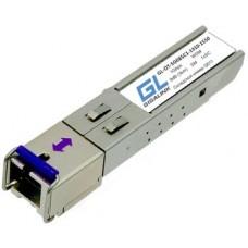 Модуль SFP GL-OT-SG08SC1, WDM, 1Гбит/с, 8дБ, ( 3км ), TX1310нм, RX1550нм, SC