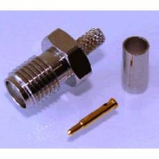Штекер SMA пайка на кабель RG-5d