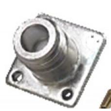Штекер SMA приборный фланец с 4-мя отверстиями