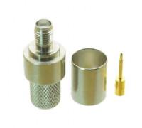 Штекер реверсный SMA обжимной под RG-8 micro (RG-59)