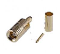 Штекер SMB на кабель RG-174 под обжим