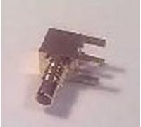 Штекер SMC пайка на печатную плату угловой