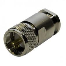 Штекер UHF пайка на кабель RG-213