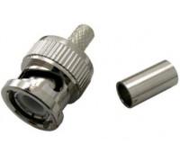 Штекер BNC обжим на кабель RG-58