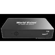 Приемник DVB-T2 World Vision T36