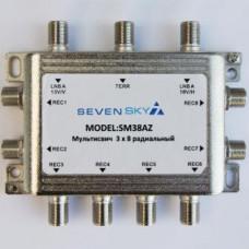 SM 38Z  3х8 активный 10 дБ